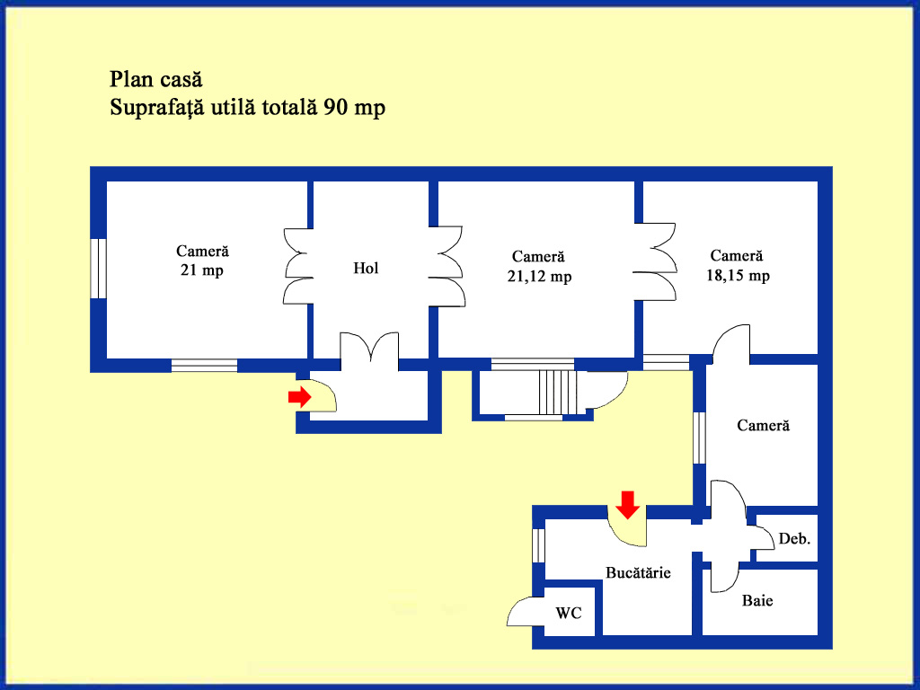 Planul casei