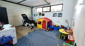 Loc de joaca (amenajat in garaj)-parter