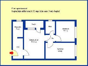 Plan apartament